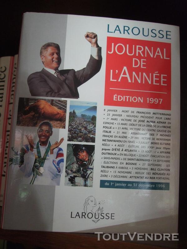 JOURNAL DE L ANNEE NEUF 644176423