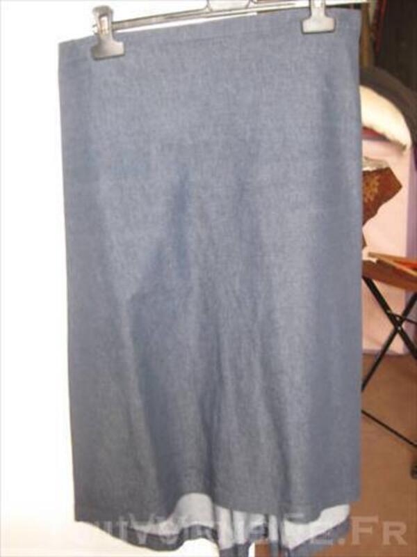 Jupe en jean Cop Copine, taille 38 44944285