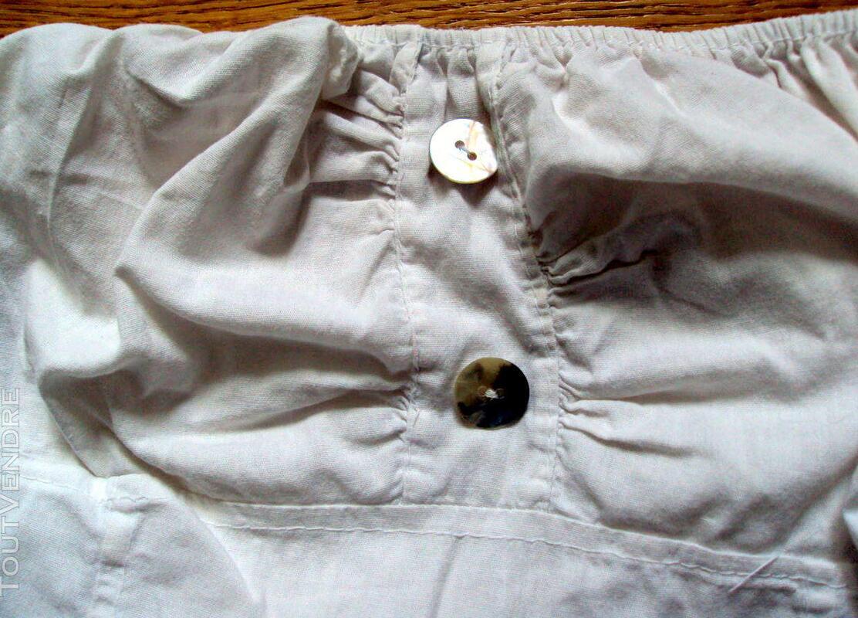 Jupe jupon blanc dentelle nacre 38 243320175