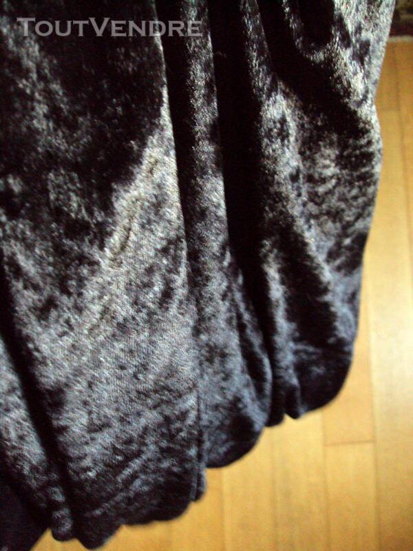 Jupe noire ceinture élastique  40 315502043