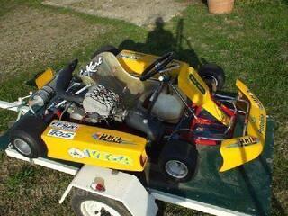Karting 125 cc a boite