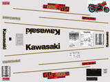 Kawasaki GPZ 900 R 83-84, Kit déco sticker