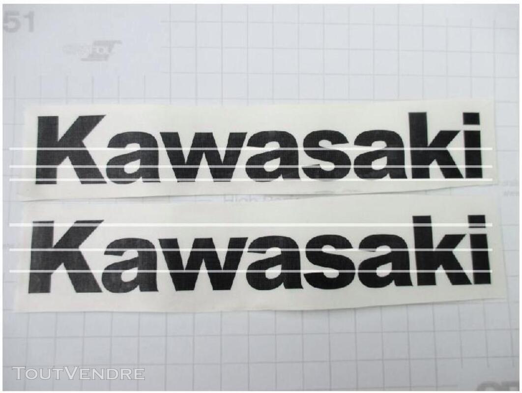KAWASAKI VINTAGE STICKERS 310950095