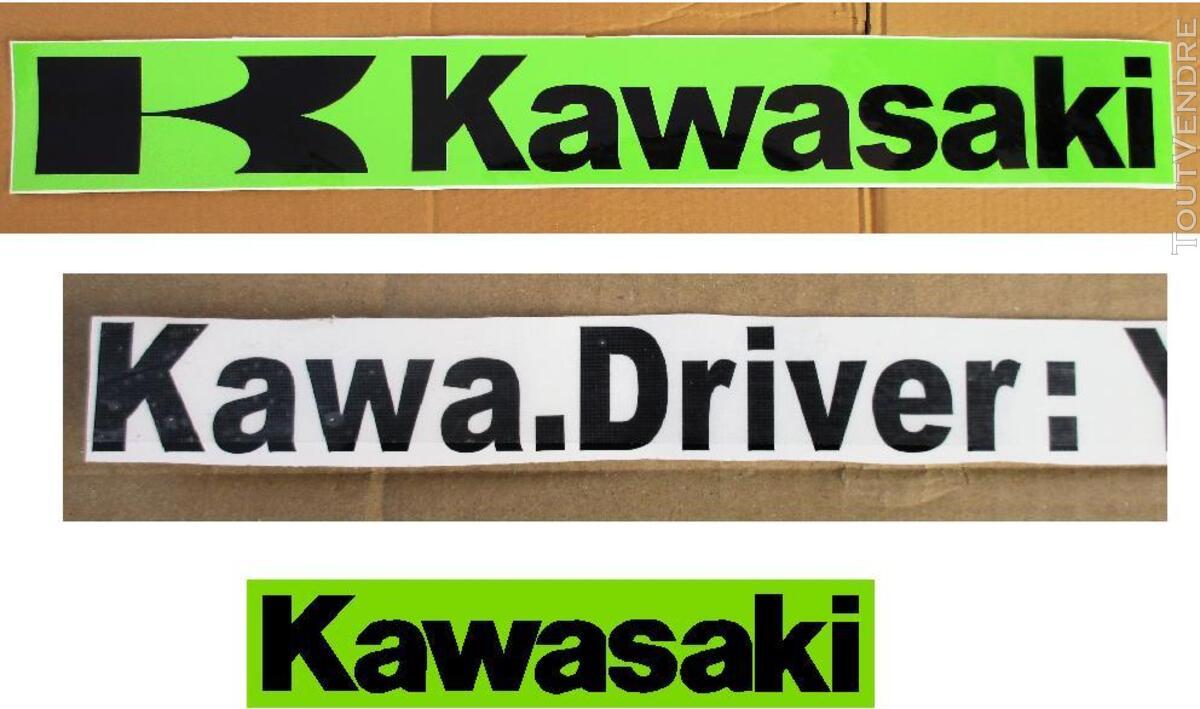 KAWASAKI VINTAGE STICKERS 310950101