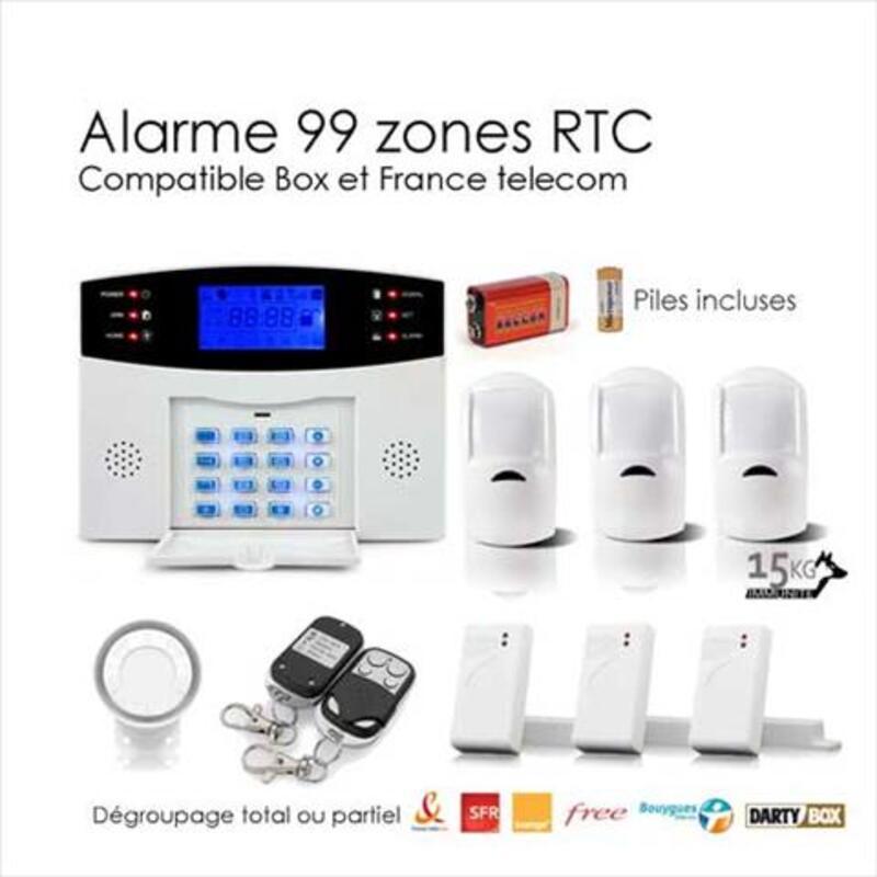 KIT alarme maison sans-fil EGYLM2B ANIMAL LARGE-BOX 95642810