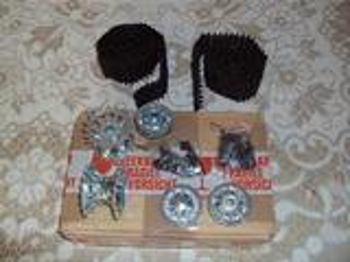 Kit chenille metal pour char 1/16