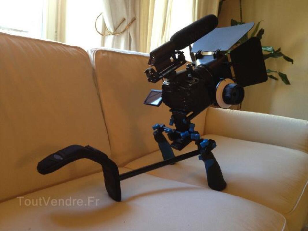 Kit de tournage professionel complet - Canon 60D - RARE 96680651