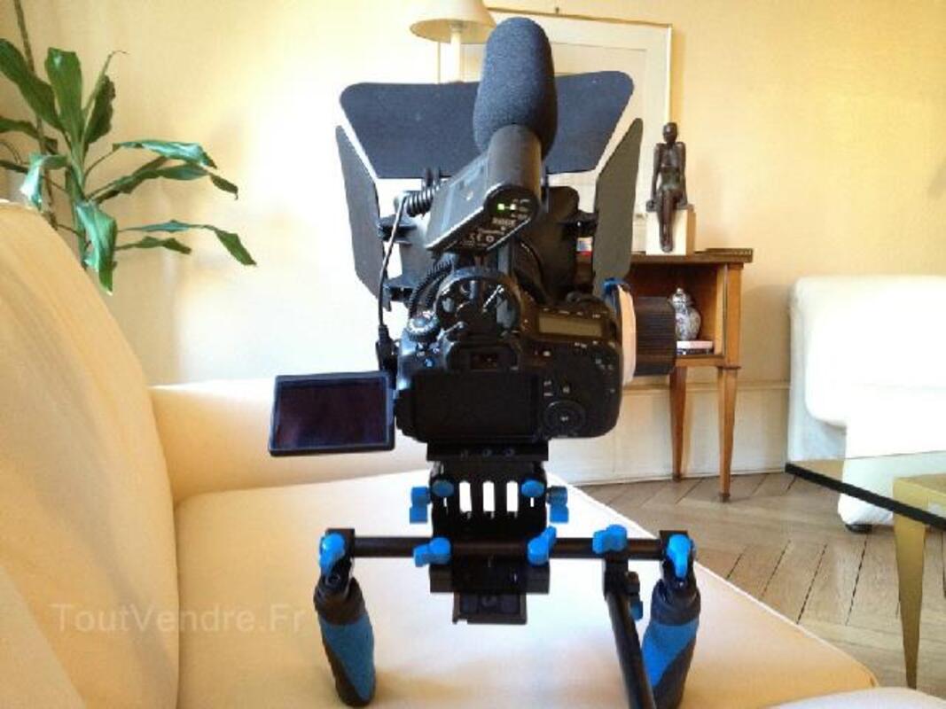 Kit de tournage professionel complet - Canon 60D - RARE 96680652