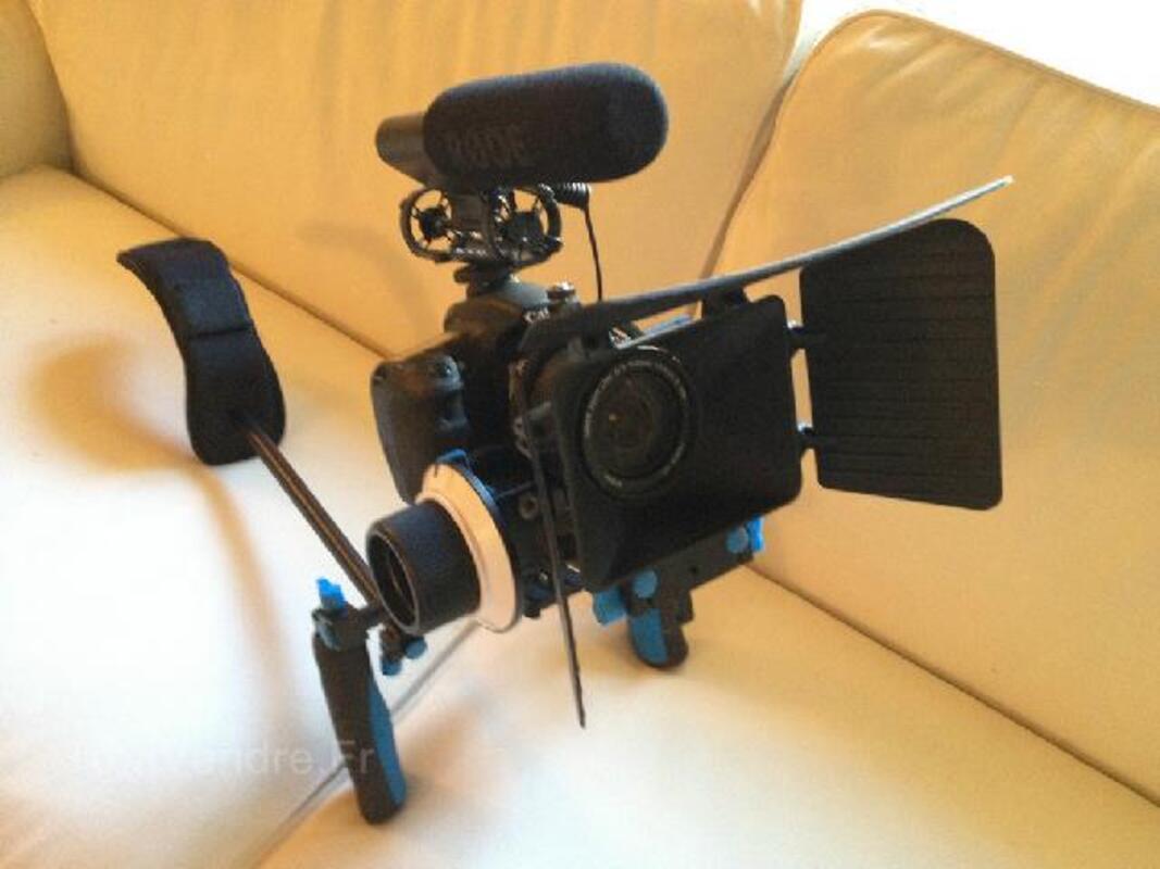 Kit de tournage professionel complet - Canon 60D - RARE 96680653