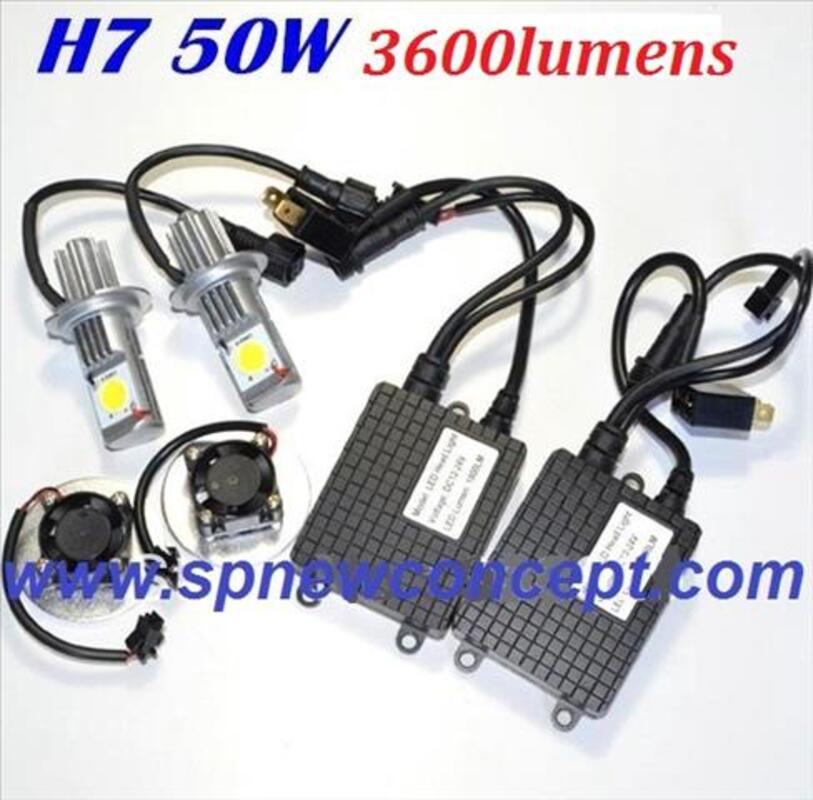 Kit LED H7 haute puissance 3600LM nouveauté 80999281