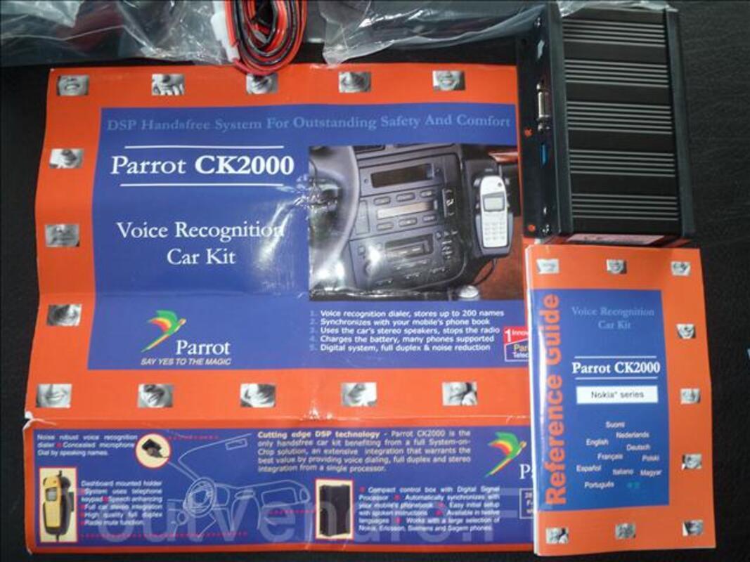 Kit main libre PARROT CK2000 complet et neuf pour GSM Nokia 35489740