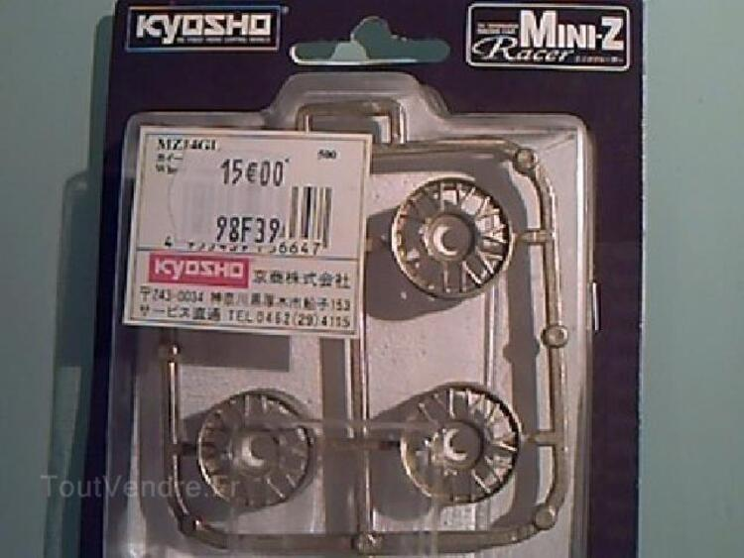 KYOSHO MZ14GL - 4 JANTES DOREES - MINI Z 94726384