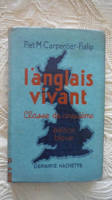 L'ANGLAIS VIVANT , classe de CINQUIEME - Edition BLEUE 257705885