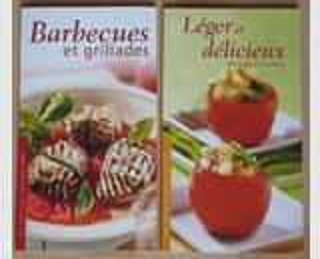 La Cuisine Ensoleillée: BBQ & Grill. + Léger & Délic. (NEUF)