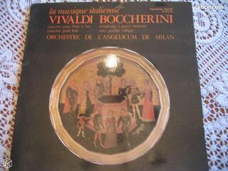 La musique italienne vivaldi boccherini D0042