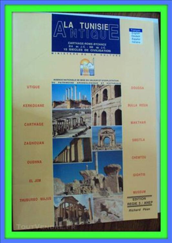 La Tunisie antique les principaux sites 79736633