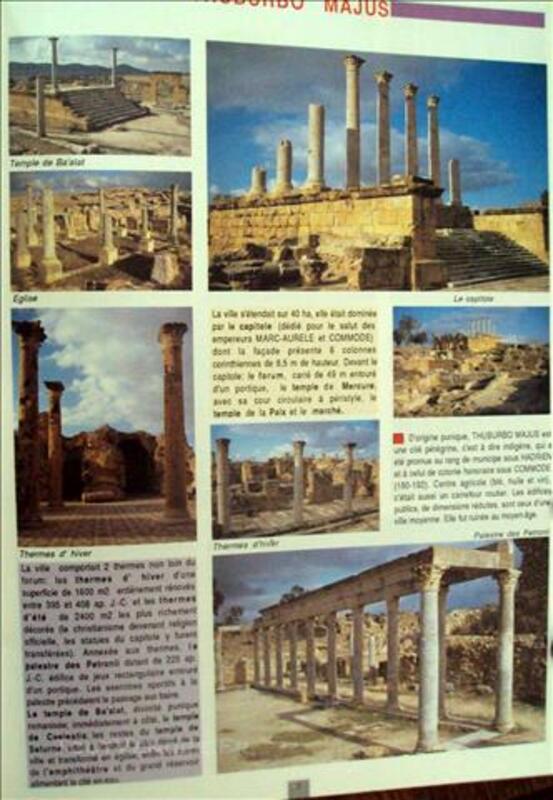 La Tunisie antique les principaux sites 79736635