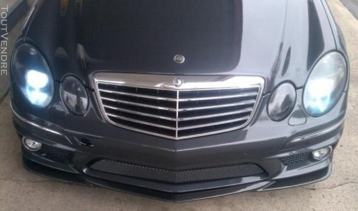 Lames avant carbone pour Mercedes W211 07 Look AMG 238230991