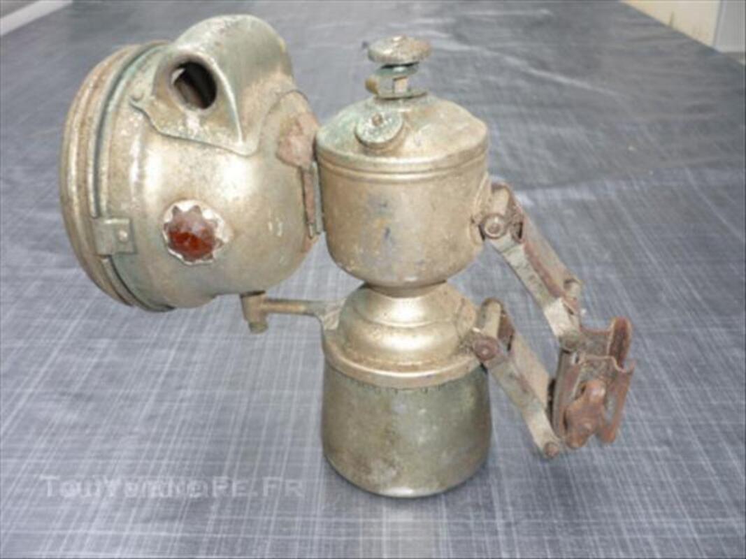 Lampe  ancienne de velo 45833922