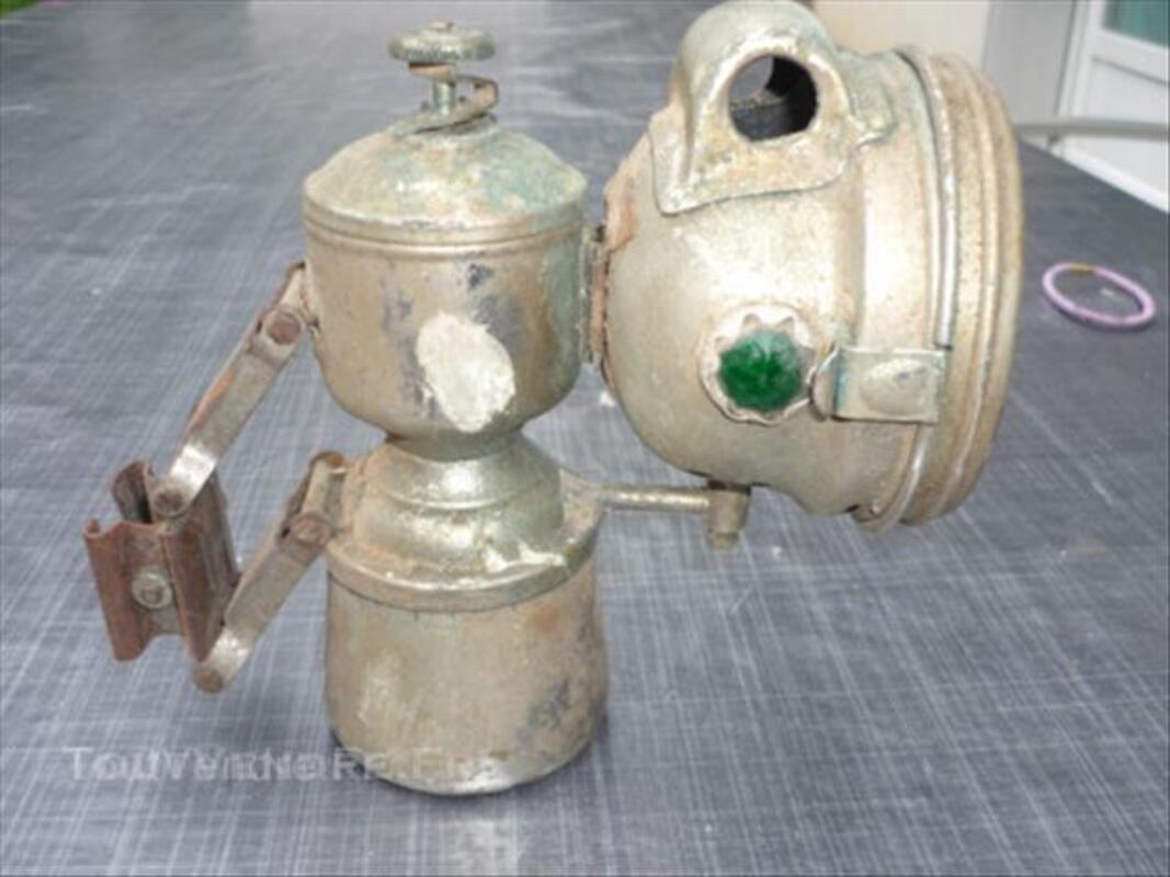 Lampe  ancienne de velo 45833923