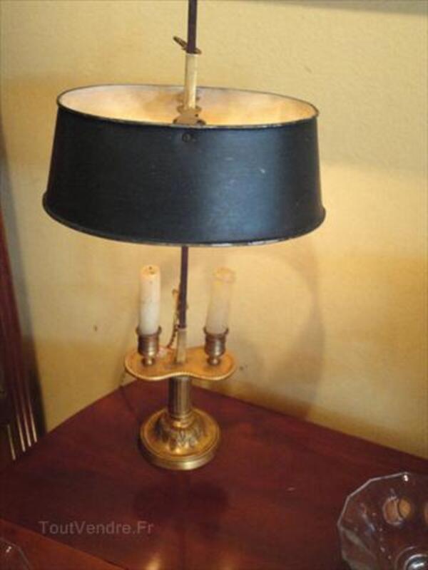 Lampe bouillotte en paire en bronze doré 71318979