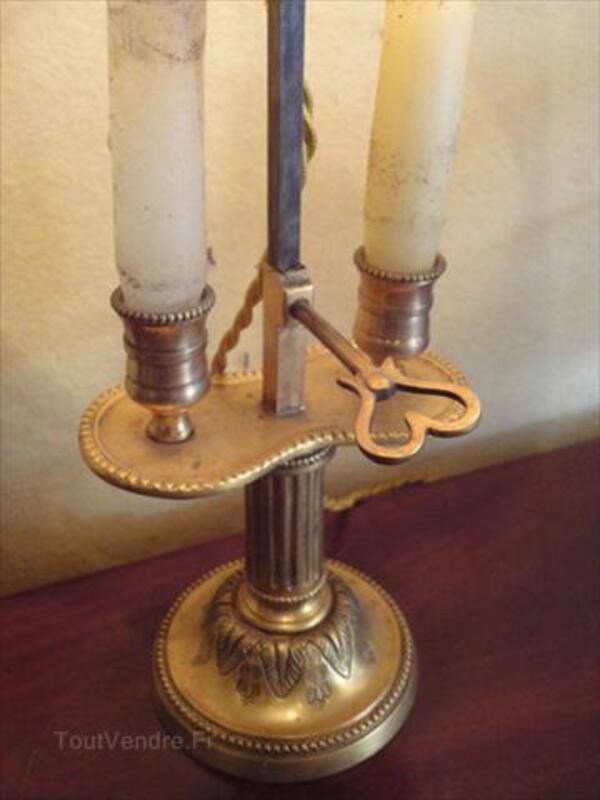 Lampe bouillotte en paire en bronze doré 71318980