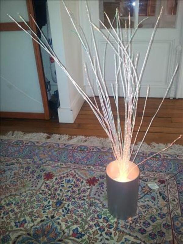 Lampe de noël à fibre optique design 86770369