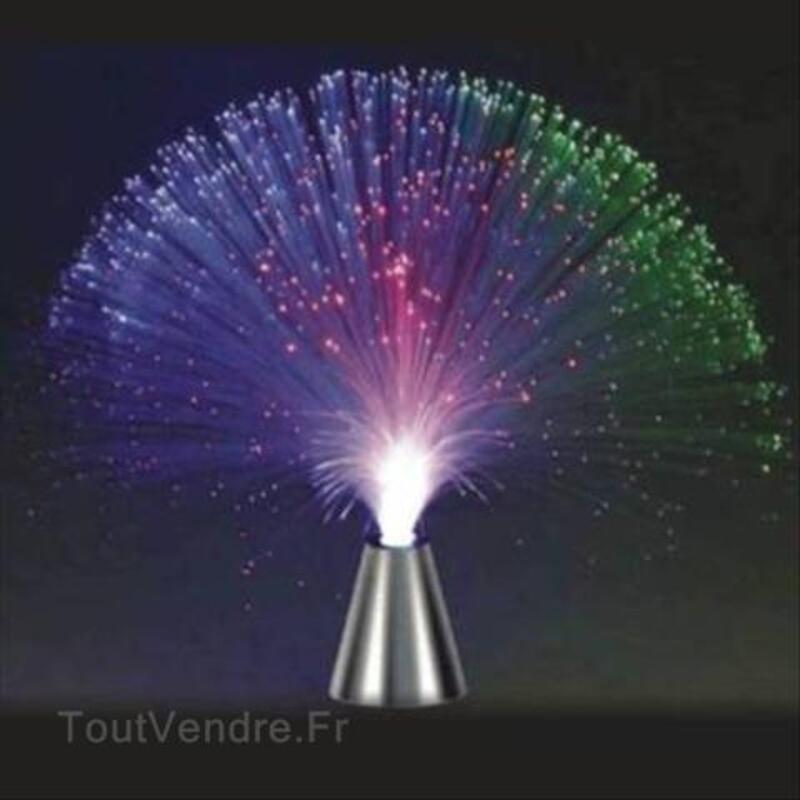 LAMPE FIBRE OPTIQUE CHANGEANT COULEUR 72951172