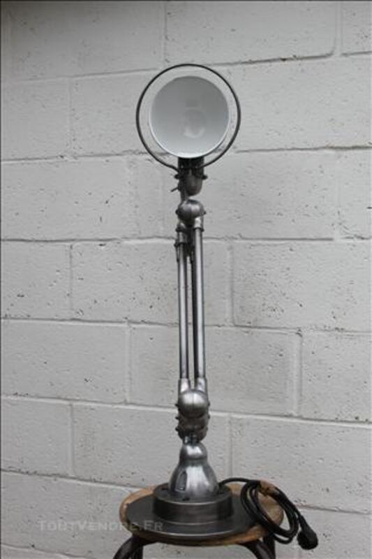 Lampe Jieldé 4,5,6 bras Finition graphite / Restauration Pro 74697298
