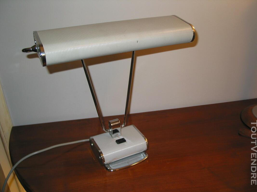 Lampe JUMO N° 71 art déco vintage moderniste bureau architec 610474625