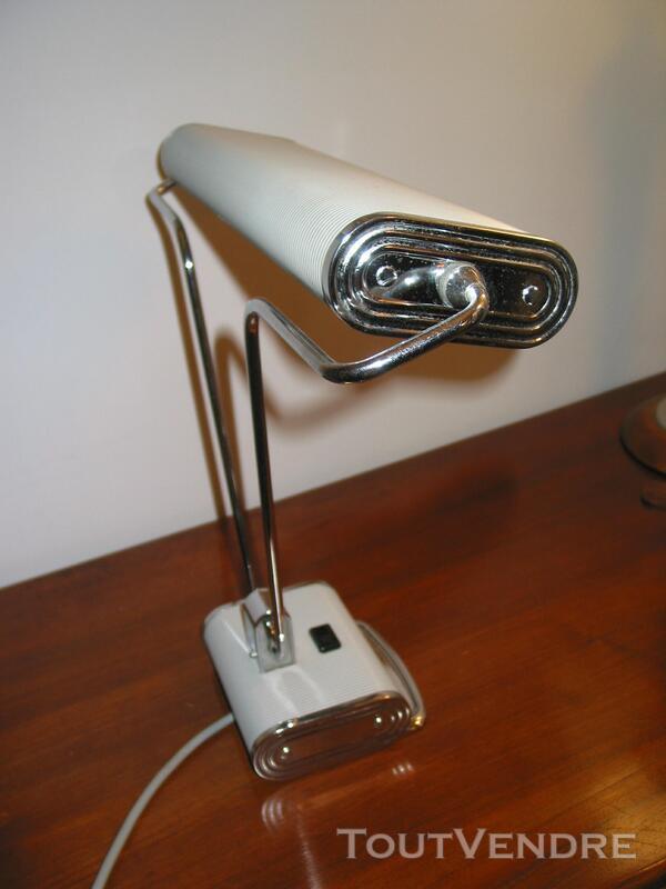 Lampe JUMO N° 71 art déco vintage moderniste bureau architec 610474724