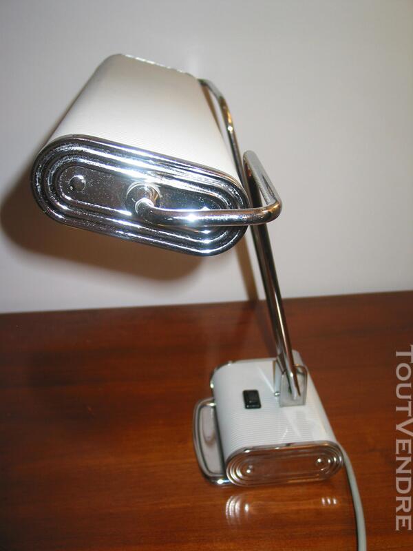 Lampe JUMO N° 71 art déco vintage moderniste bureau architec 610474853
