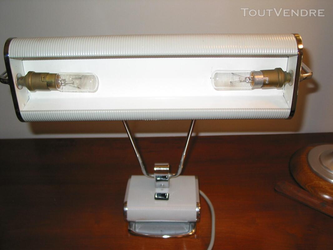 Lampe JUMO N° 71 art déco vintage moderniste bureau architec 610475081