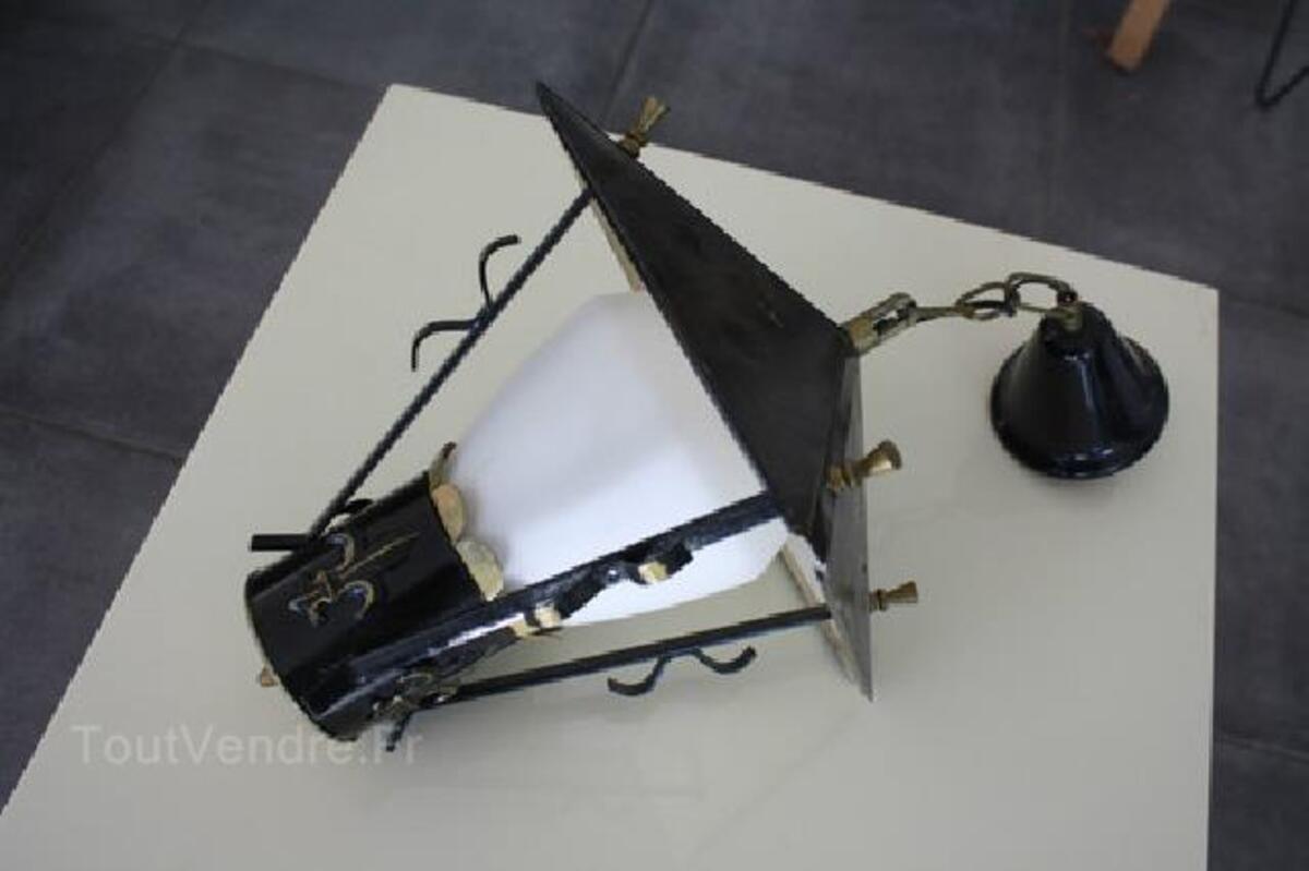 LAMPE LUSTRE VINTAGE DESIGN 1950 style Mategot 89841964