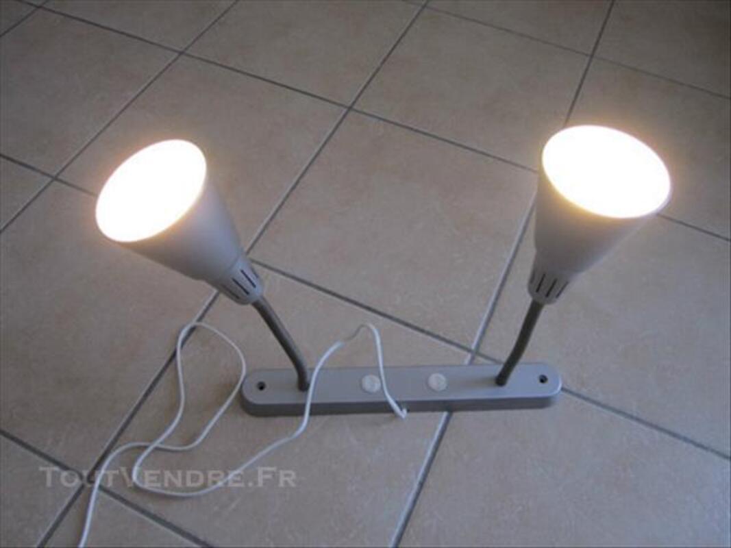 Lampe mural (applique) double avec deux interrupteurs 84565616