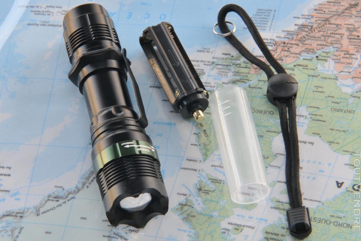 Lampe torche tactique camping à Leds Cree 110018384