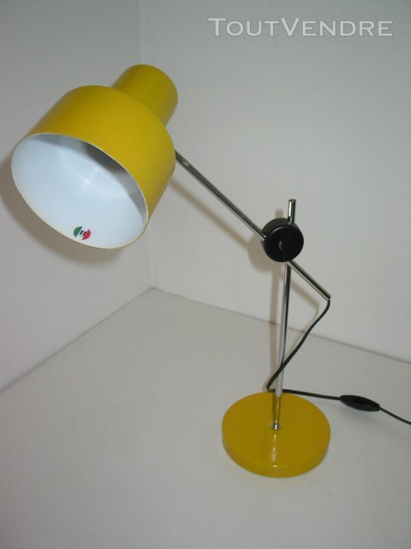 Lampe vintage 1970 design ALAIN RICHARD pour ARTELUCE lampe 616656126