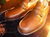 LAPIDUS MOCASSINS UK 11/EU 45 NEW SHOES CUIR CHOCOLATE
