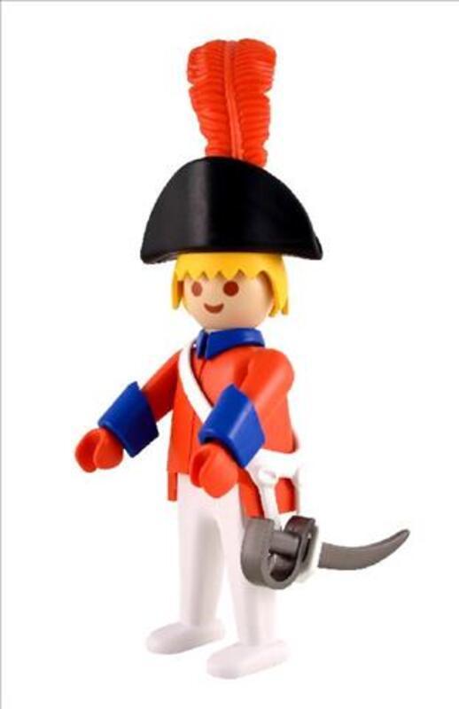 LE GARDE OFFICIER playmobil leblon delienne figurine 89121066