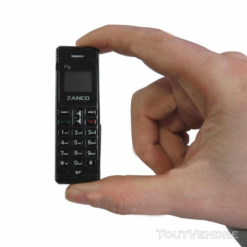Le plus petit telephone mobile du monde 7x2x1 cm Original Za 620718876