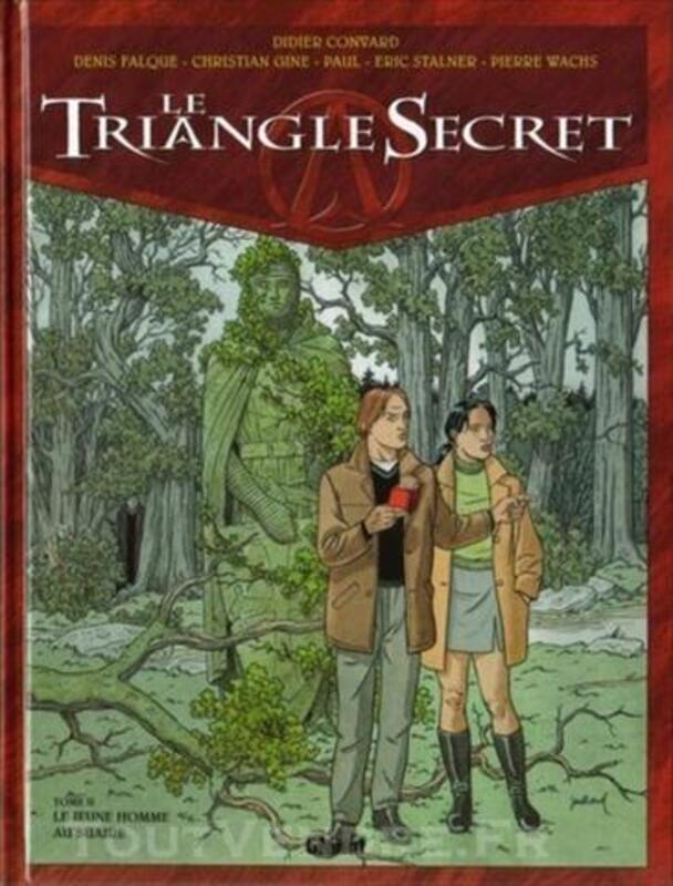 Le Triangle Secret - 2 Le jeune homme au suaire 10/2000 73980396