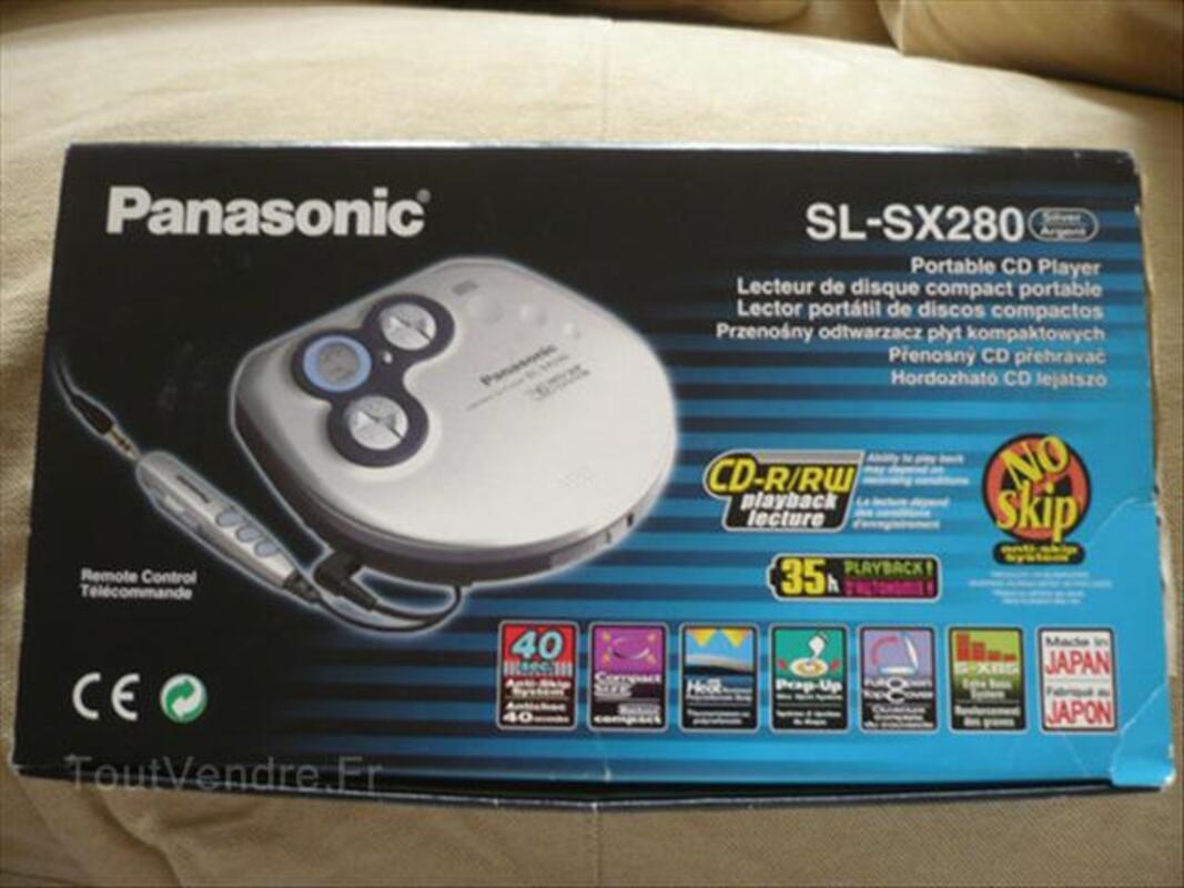 Lecteur CD portable PANASONIC SL-SX280 64417240