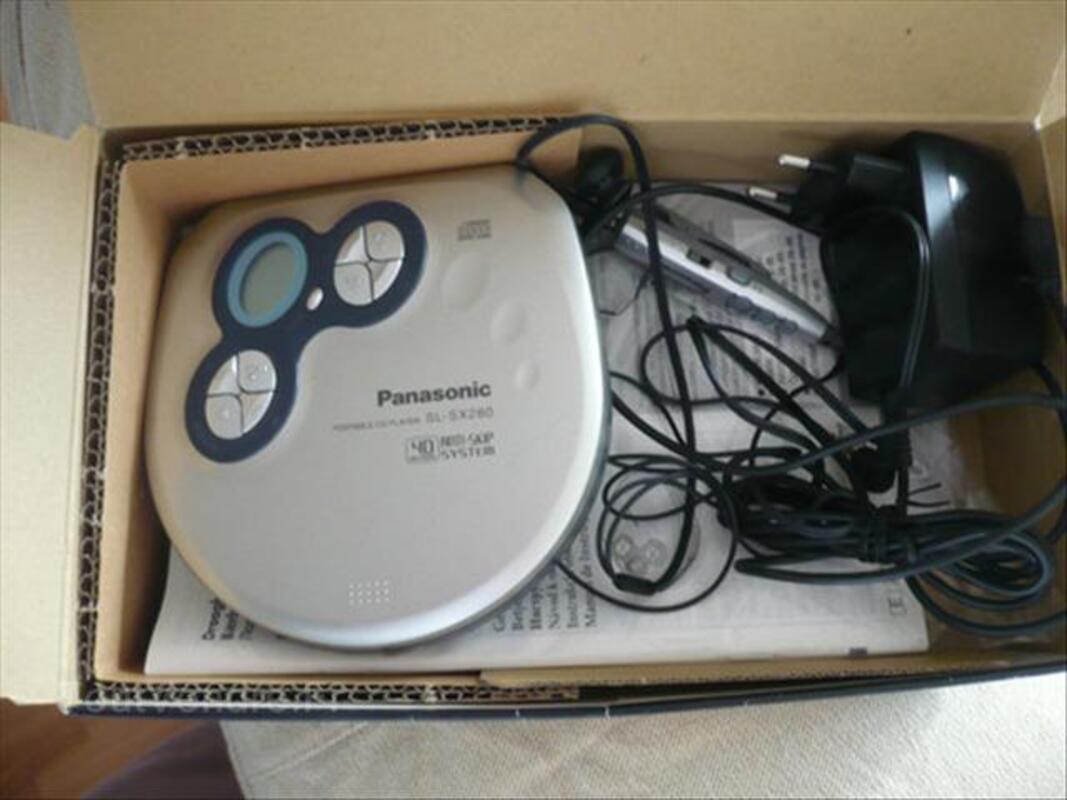 Lecteur CD portable PANASONIC SL-SX280 64417241