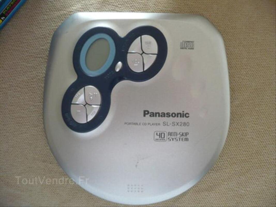 Lecteur CD portable PANASONIC SL-SX280 64417242