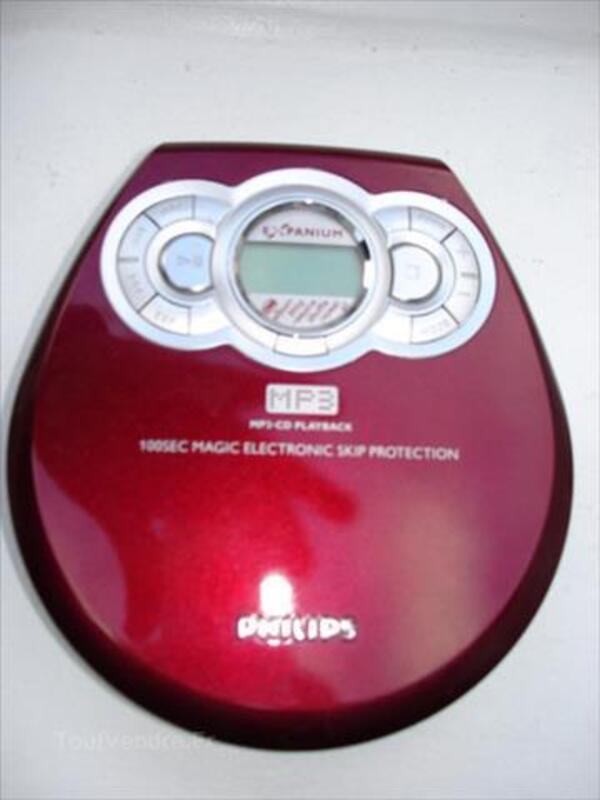 Lecteur de CD portable philips 87054384