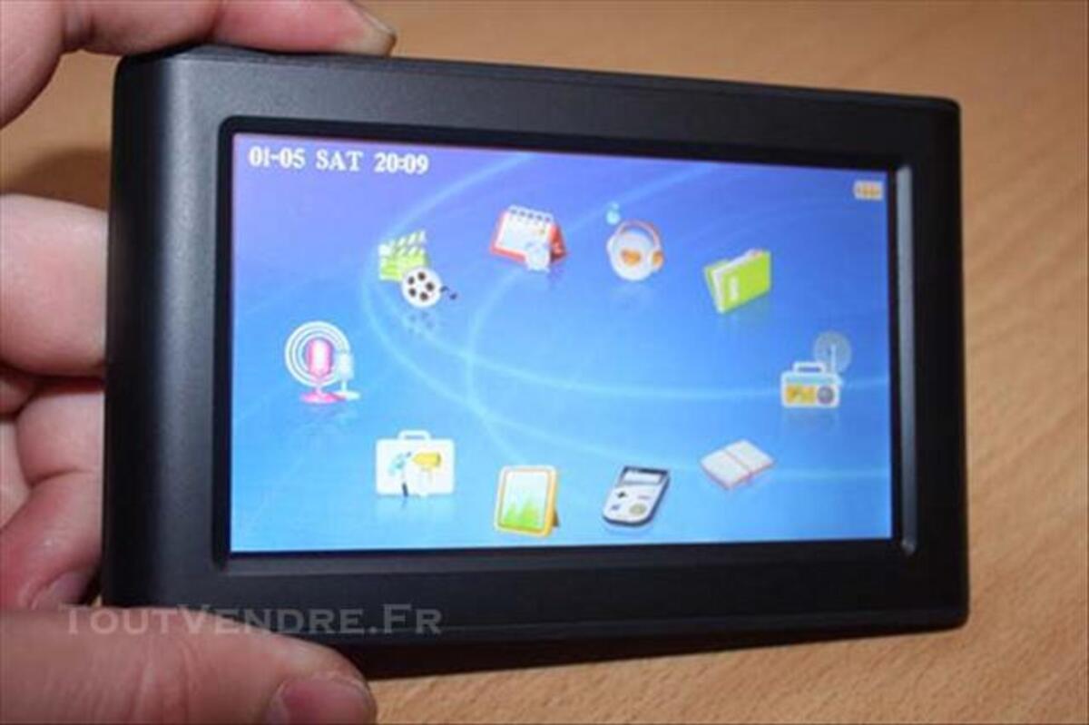 """Lecteur Divx, MP3, transmetteur FM, diane-elec 8GB 4,3"""" 73974768"""