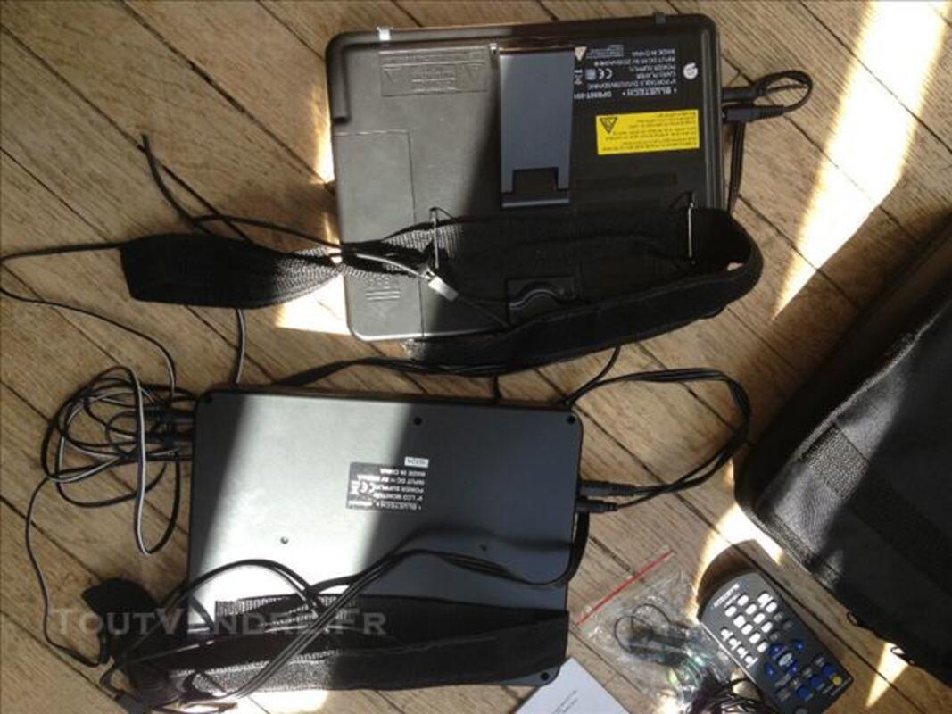Lecteur DVD et DIVX voiture Double écran DPB90T-001 84634170