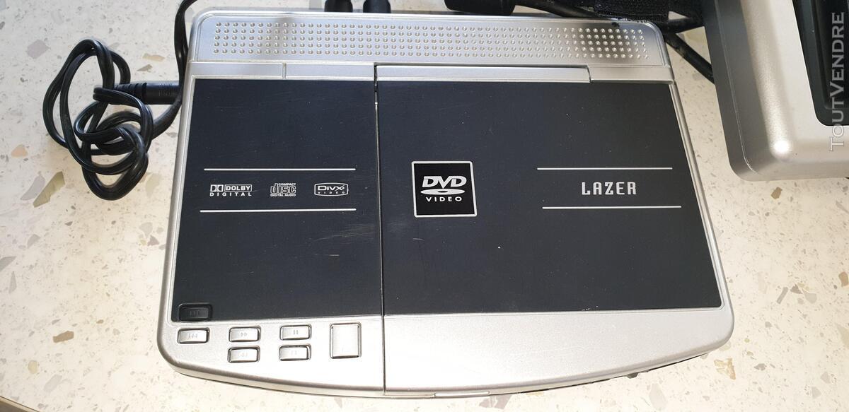 •Lecteur DVD LAZER portable double écrans 634388792