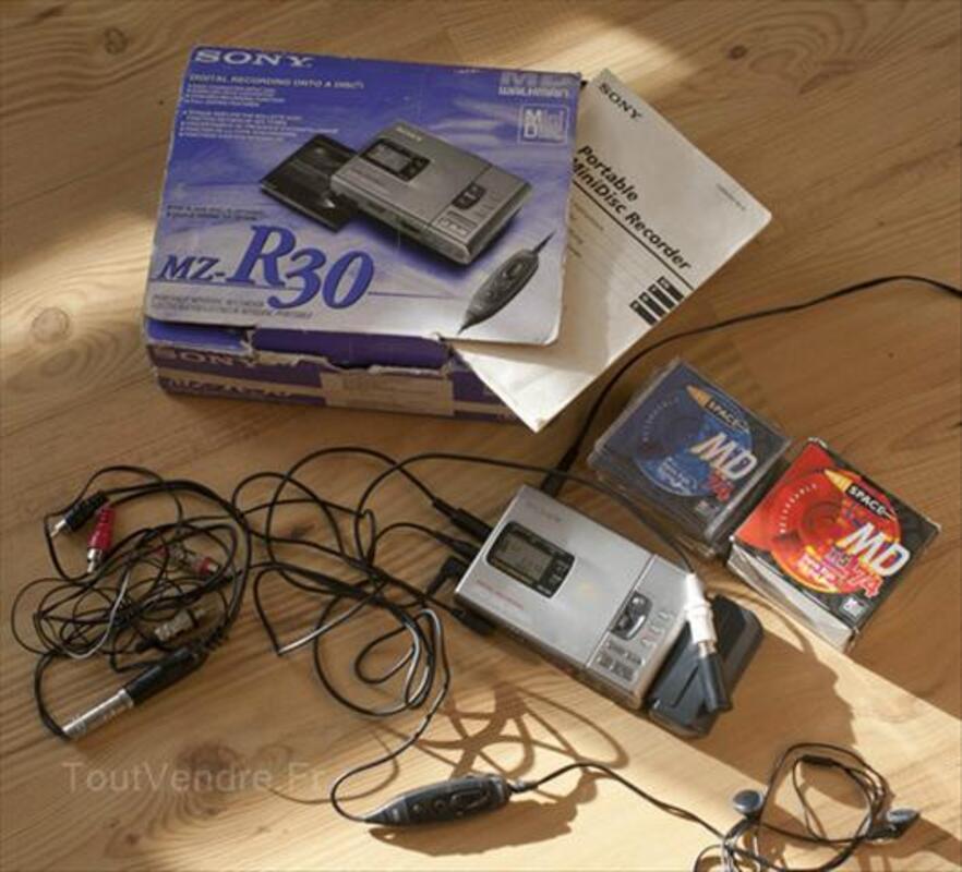 Lecteur enregistreur de Minidisc Sony MZ-R30 56404382