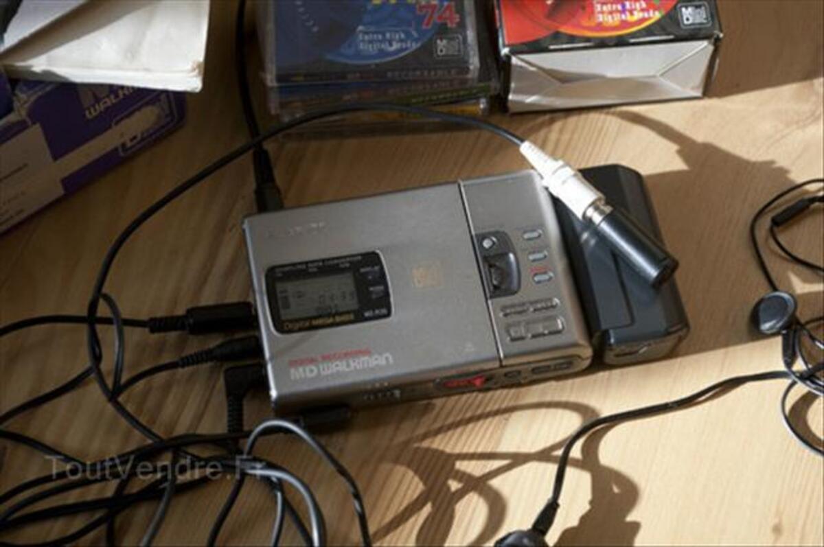 Lecteur enregistreur de Minidisc Sony MZ-R30 56404383